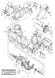 Ariens snowblower parts diagram snapper le3190r 19 3 hp single stage snow thrower series 0