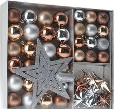 Weihnachtskugeln Shatterproof 45 Pcs Farbe Kupfer
