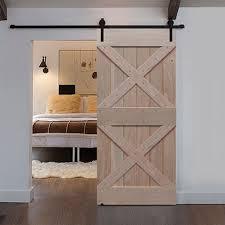 glasscraft model double x barn door