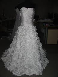 closed finished milly bridal dress