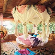 Colorful Open Air Bedroom at Awesome Colorful Bedroom Design Ideas