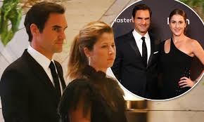 Roger Federer spotted on a rare date night with wife Mirka in Perth