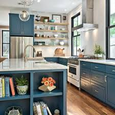 Kitchens with white appliances Light Grey Farmhouse Kitchen Photos Example Of Country Lshaped Medium Tone Wood Floor And Houzz 75 Most Popular Farmhouse Kitchen With White Appliances Design Ideas