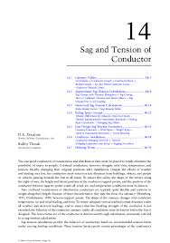 Pdf Sag And Tension Of Conductor Sead Saric Academia Edu