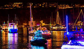 Dana Point Harbor Christmas Lights Annual Dana Point Parade Of Lights California Skier