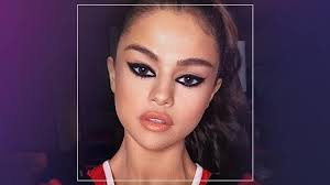 we re living for selena gomez s dramatic cat eye