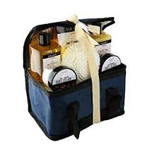 amazon spa life all natural bath and body luxury spa gift set basket mens sandalwood beauty