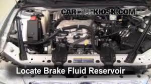 interior fuse box location buick century buick 1997 2005 buick century brake fluid level check