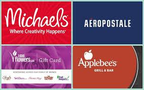 50 michael s old navy gap or applebee s gift card only 40 aeropostale steak n shake ihop regal and more gift card deals
