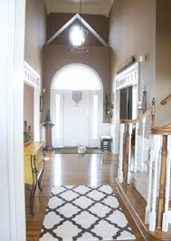 interior design runner rugs for hallway awesome black and white rugs for foyer trgn 4bc43e2521