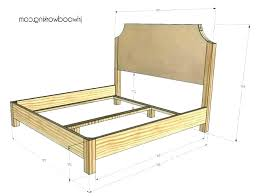 What Is The Measurement Of A Queen Size Bed Frame