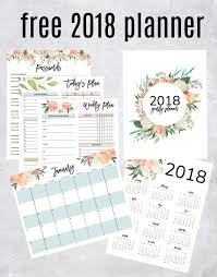planners weekly monthly get your free 2018 printable planner with daily weekly