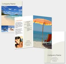 brochure templates travel brochure
