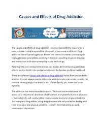 and effects of drug abuse essay causes and effects of drug abuse essay