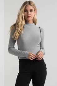Light Turtleneck Paxton Soft Lightweight Ribbed Knit Turtleneck Sweater In