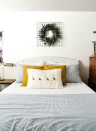 simple guest bedroom. Simple-Guest-Bedroom-Makeover MyFabulessLife.com Simple Guest Bedroom
