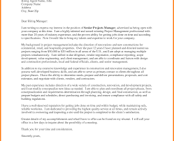 Cover Letter For Facilities Manager Collections Project