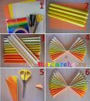 Как сделать гармошку из бумаги 164