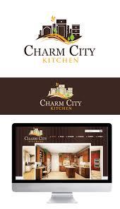 Freelance Kitchen Designer Adorable Logo For Charm City Kitchen Xavier Ocasio Freelance Graphic Designer