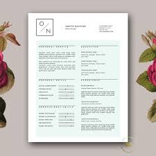 Creative Cover Letter Template Modern Resume Template And Cover Letter Template For Ms Word Creative Resume Template