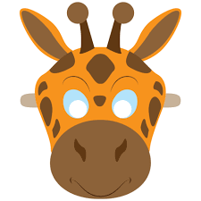 Giraffe Printable Template Giraffe Mask Template Free Printable Papercraft Templates
