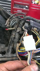wicked battery drain kawasaki vulcan forum vulcan forums been chasing wires all day narrowed it down the a brown wire a white stripe that comes off of the ignition switch as shown below