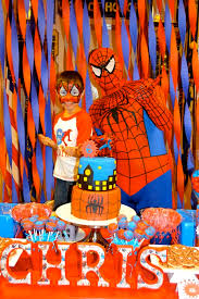 The Amazing Spiderman Birthday Party Ideas In 2019 Birthday