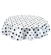 extra big tablecloths round oilcloth tablecloth in big dot silver and black centerpiece mirrors for weddings