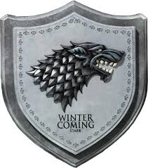 Game Of Thrones Stark House Crest Wooden Plaque Game of Thrones Stark House Crest Wall Plaque 1