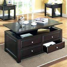 storage coffee table ikea end tables with storage end tables with drawers for living room medium