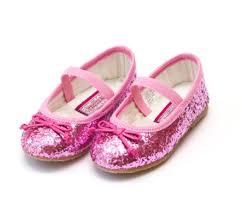 Dorothy Sparkle Glitter Flat Fuchsia