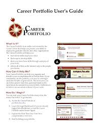 cover page for career portfolio example cover page career career portfolio template and online career portfolio examples