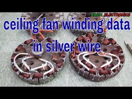 fan winding data in silver wire for high sd ceiling fan winding data in silver wire in urdu hindi