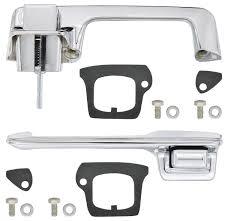 1967 68 cadillac door handle kit outside front 2 door coupe convertible except eldorado