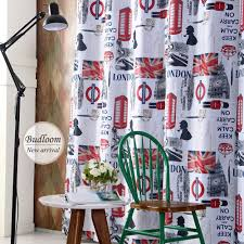 London Style Blackout Curtains For Living Room Bedroom Children Boys Girls  Cartoon Window Shade Screens-in Curtains from Home & Garden on  Aliexpress.com ...