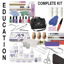 Nouveau Nail Academy Kit - Complete Education Kit - Beauty Salon ...