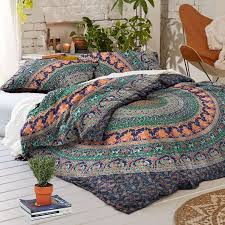 com exclusive badmeri mandala duvet cover with pillowcases by madhu international ombre mandala quilt cover donna cover home kitchen