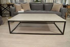 best coffee tables design metal base blackened seagrass seating