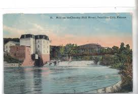 mill on the smoky hill river junction city kansas 1911
