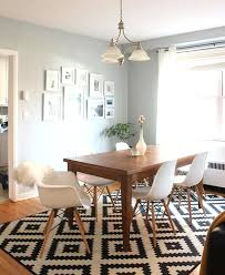 best size rug for dining room furniture rug for dining table modern tips finding the perfect