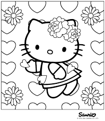 Gratis Hello Kitty Kleurplaten Page 2