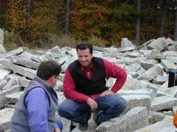 how to build a dry stack stone