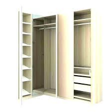 closet organizer corner unit