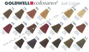 Goldwell Demi Permanent Hair Color Chart Goldwell Semi Perm Colors Goldwell Color Chart Permanent