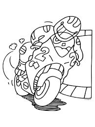 Kleurplaat Motorrijder Auto Electrical Wiring Diagram