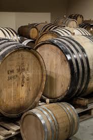 Oak wine barrels stock image Image of aging wooden 90867875