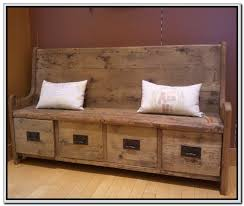 Gorgeous Rustic Storage Bench Bench With Storage For Entryway Modern World  Home Interior Hall