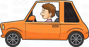 car driving clipart. Unique Car A Woman Driving Small Car Cartoon Clipart Intended E