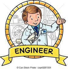 engineer coloring book abc of profession emblem csp43261554