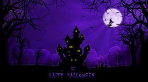 Purple Blue Halloween Wallpapers - Top ...